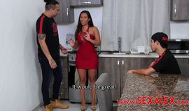 Big Dick - Silvia Santez Is Plumbed Very Hard By Her Nasty Nephew