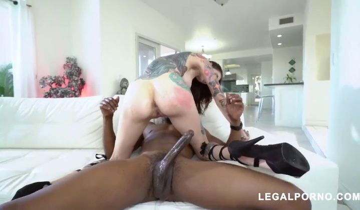 Rocky Emerson Multiracial Double Penetration Ass Dgs