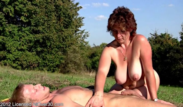 Fisting - Hot Mature Misti Fucked Outdoor All Over 60